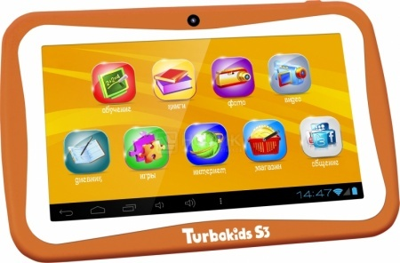 Планшет TurboPad TurboKids S3 Orange (Android 4.2/RK3026 1000MHz/7.0