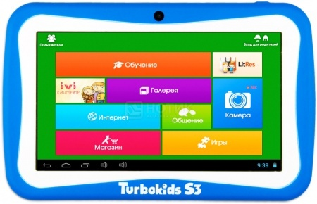 Планшет TurboPad TurboKids S3 Blue (Android 4.2/RK3026 1000MHz/7.0