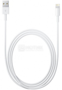 Кабель Apple Lightning to USB 2м, MD819, Белый, арт: 34728 - Apple