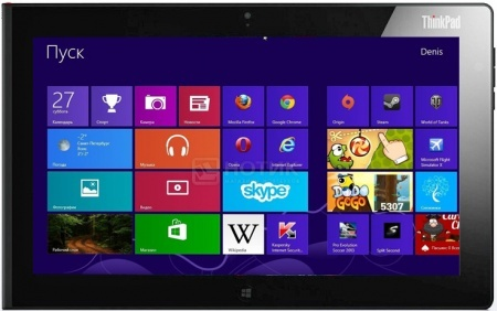 Планшет Lenovo Thinkpad Tablet 2 32Gb (MS Windows 8 (32-bit)/Z2760 1800MHz/10.1