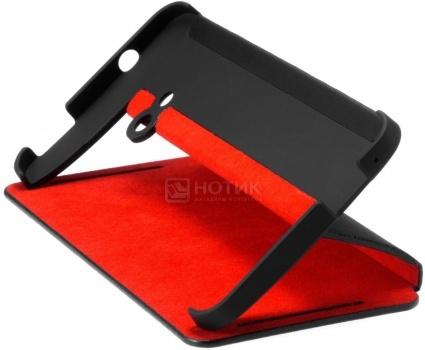 Чехол HTC Double Dip Flip HC V841 для HTC One, Черный/Красный НОТИК 850.000