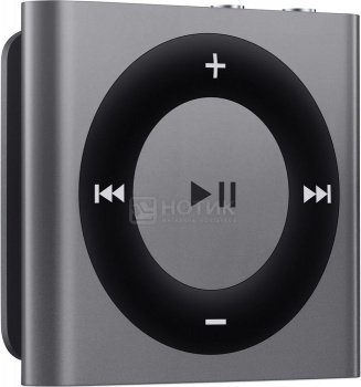 MP3-плеер Apple iPod Shuffle 4 2Gb, ME949, Серый НОТИК 1990.000