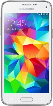 Защищенные смартфоны Samsung Galaxy S5 mini 16Gb White SM-G800FZWASER (Android 4.4/Snapdragon 400 1400MHz/4.5