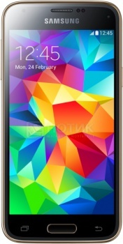 Защищенные смартфоны Samsung Galaxy S5 mini 16Gb Copper Gold SM-G800FZDASER (Android 4.4/Snapdragon 400 1400MHz/4.5