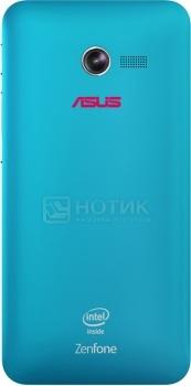 Чехол Asus Zen Case для ZenFone 4, Поликарбонат, Синий 90XB00RA-BSL170