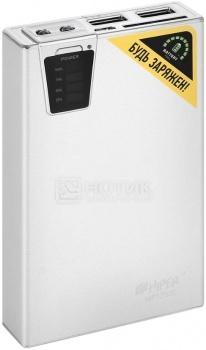 Аккумулятор HIPER Power Bank для iPhone/iPad MP12500 Silver, 12500 мАч, Серебристый НОТИК 2190.000