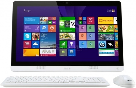 Моноблок Acer Aspire ZC-606 (19.5 LED/ Celeron Quad Core J1900 2000MHz/ 4096Mb/ HDD 500Gb/ Intel HD Graphics 64Mb) MS Windows 8 (64-bit) [DQ.SURER.006] НОТИК 16900.000