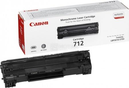 Картридж Canon 712 для LBP-3010/3100 1500стр, Черный 1870B002