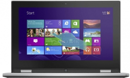 Ноутбук Dell Inspiron 3147 (11.6 LED/ Pentium Dual Core N3530 2160MHz/ 4096Mb/ HDD 500Gb/ Intel HD Graphics 32Mb) MS Windows 8 (64-bit) [3147-2893] НОТИК 21990.000