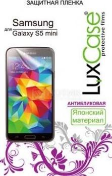 Защитная пленка LuxCase для Samsung Galaxy S5 mini SM-G800, Антибликовая