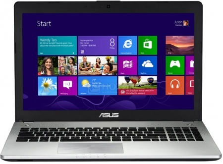 Ноутбук Asus N56JN (15.6 LED/ Core i7 4700HQ 2400MHz/ 8192Mb/ HDD 1000Gb/ NVIDIA GeForce GT 840M 2048Mb) MS Windows 8 (64-bit) [90NB04Z1-M01250] НОТИК 38990.000