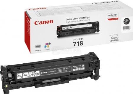 Картридж Canon 718BK для LBP-7200 MF8330 8350 8580 Черный 3400 стр 2662B002