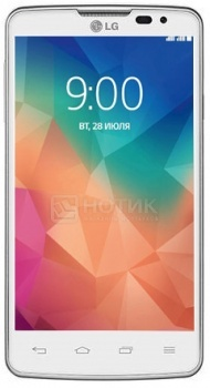 Смартфон LG L60 X145 White (Android 4.3/Snapdragon 200 1200MHz/4.3