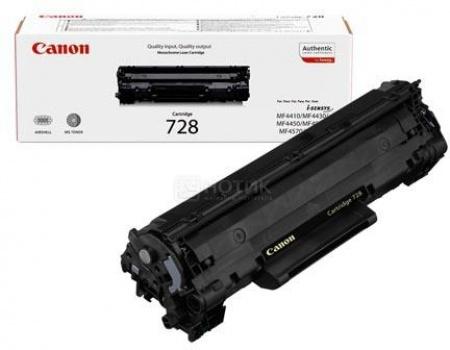 Картридж Canon 728 для MF4410/4430/4450 MF4550D /4570DN /4580DN 2100стр, Черный 3500B010