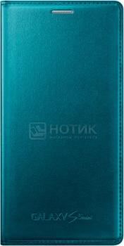 Чехол Samsung Flip Cover EF-FG800BGEGRU для Samsung Galaxy S5 mini G800, Кожа, Зеленый НОТИК 1500.000
