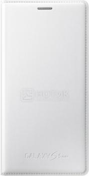 Чехол Samsung Flip Cover EF-FG800BWEGRU для Samsung Galaxy S5 mini G800, Кожа, Белый НОТИК 1500.000