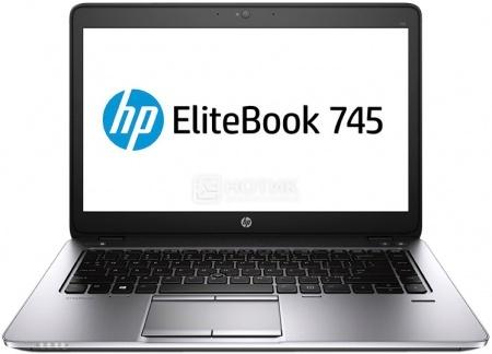 Ультрабук HP EliteBook 745 (14.0 LED/ A10-Series A10 Pro-7350B 2100MHz/ 8192Mb/ SSD 256Gb/ AMD Radeon R6 series 512Mb) MS Windows 7 Professional (64-bit) [F1Q20EA]HP<br>14.0 AMD A10-Series A10 Pro-7350B 2100 МГц 8192 Мб DDR3-1600МГц SSD 256 Гб MS Windows 7 Professional (64-bit), Черный<br>
