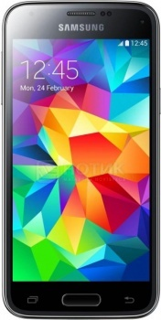Защищенные смартфоны Samsung Galaxy S5 mini 16Gb Black SM-G800HZKDSER (Android 4.4/Snapdragon 400 1400MHz/4.5