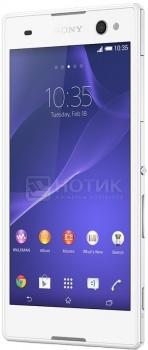 Смартфон Sony Xperia C3 Dual White (Android 4.4/MSM8926 1200MHz/5.5