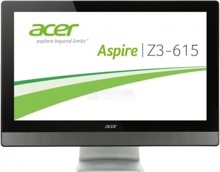 Моноблок Acer Aspire Z3-615 (23.0 IPS (LED)/ Core i5 4460T 1900MHz/ 4096Mb/ HDD 1000Gb/ NVIDIA GeForce GT 840M 2048Mb) MS Windows 8.1 (64-bit) [DQ.SVCER.006] НОТИК 35500.000
