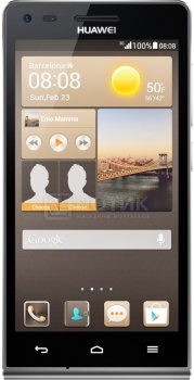 Смартфон Huawei Ascend G6 LTE Black (Android 4.3/MSM8926 1200MHz/4.5