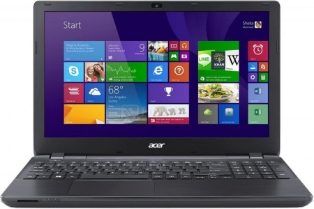 Ноутбук Acer Aspire E5-551-T580 (15.6 LED/ A10-Series A10-7300 1900MHz/ 4096Mb/ HDD 500Gb/ AMD Radeon R6 series 512Mb) MS Windows 8.1 (64-bit) [NX.MLDER.003] НОТИК 20590.000