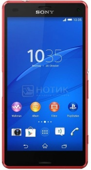 "Защищенные смартфоны Sony Xperia Z3 Compact Orange (Android 4.4/MSM8974AC 2500MHz/4.6"" (1280x720)/2048Mb/16Gb/4G LTE 3G (EDGE, HSDPA, HSUPA)) [D5803Orange] от Нотик"