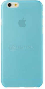 Чехол-накладка для iPhone 6 Ozaki O!coat 0.3 Jelly OC555BU, Пластик, Синий НОТИК 970.000