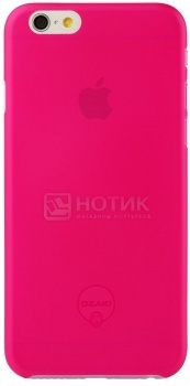 Чехол-накладка для iPhone 6 Ozaki O!coat 0.3 Jelly OC555PK, Пластик, Розовый