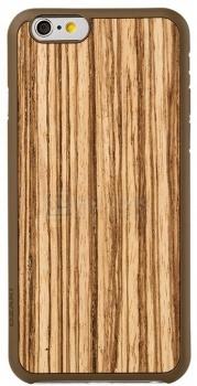 Чехол-накладка для iPhone 6 Ozaki O!coat 0.3+Wood OC556ZB, Пластик, Светло-коричневый
