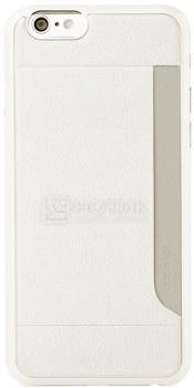 Чехол-накладка для iPhone 6 Ozaki O!coat 0.3+Pocket OC559WH, Пластик, Белый от Нотик
