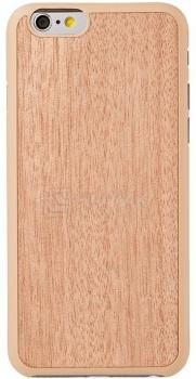 Чехол-накладка для iPhone 6 Ozaki O!coat 0.3+Wood OC556SP, Пластик, Бежевый