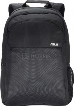 """Фотография товара рюкзак 15,6"""" Asus ARGO Backpack 90XB00Z0-BBP000 полиэстер, Черный (36218)"""