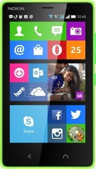 Смартфон Nokia X2 Dual SIM Green (Nokia Х 2.0/MSM8210 1200MHz/4.3