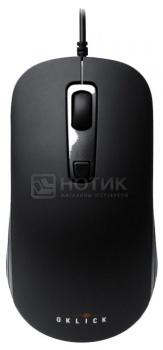 Мышь проводная Oklick 155M, 1600dpi, Черный НОТИК 300.000