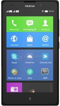 Смартфон Nokia XL Dual SIM Black (Nokia X 1.0/MSM8225 1000MHz/4.0