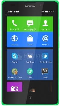 Смартфон Nokia XL Dual SIM Green (Nokia X 1.0/MSM8225 1000MHz/4.0
