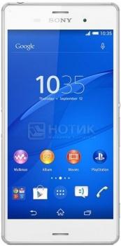 Защищенные смартфоны Sony Xperia Z3 Dual White (Android 4.4/MSM8974AC 2500MHz/5.2