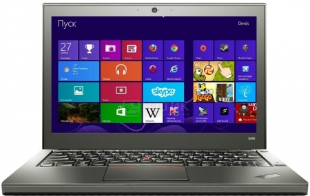 Ноутбук Lenovo ThinkPad X240 (12.5 IPS (LED)/ Core i7 4600U 2100MHz/ 8192Mb/ HDD+SSD 1000Gb/ Intel HD Graphics 4400 64Mb) MS Windows 7 Professional (64-bit) [20AL00DJRT] от Нотик