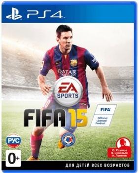 Игра FIFA 15 (PS4, русская версия)Electronic Arts<br>Игра FIFA 15 (PS4, русская версия)<br>
