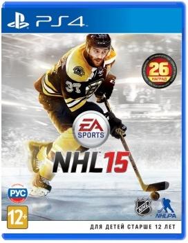 Игра NHL 15 (PS4, русская версия)