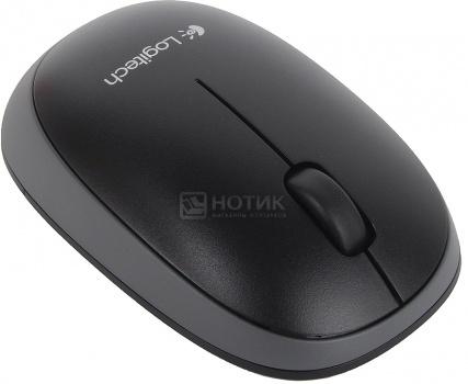 Мышь беспроводная Logitech M165 910-004110, 1000dpi, Черный НОТИК 850.000