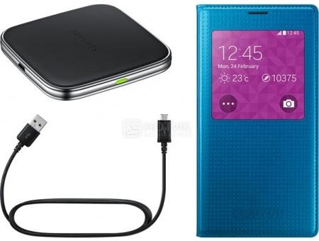 Комплект Samsung EP-KG900PLRGRU для зарядки Samsung Galaxy S5, Синий НОТИК 2990.000