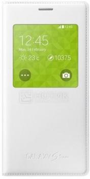 Чехол Samsung S View Cover EF-CG800BWEGRU для Samsung Galaxy S5 mini SM-G800, Полиуретан, Белый НОТИК 1890.000
