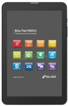Планшет Bliss Pad M8041 (Android 4.2/MT6582 1300MHz/8.0