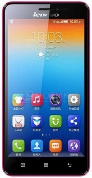 "Смартфон Lenovo IdeaPhone S850 Pink (Android 4.4/MT6582 1300MHz/5.0"" (1280x720)/1024Mb/16Gb/ 3G (EDGE, HSDPA, HSPA+)) [P0QQ0015RU] от Нотик"