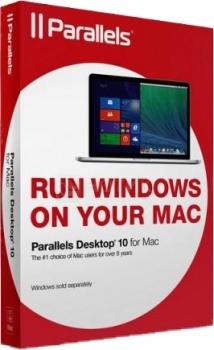 Программный продукт Parallels Desktop 10 for Mac PDFM10L-BX1-CIS от Нотик