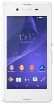 Смартфон Sony Xperia E3 White (Android 4.4/MSM8926 1200MHz/4.5
