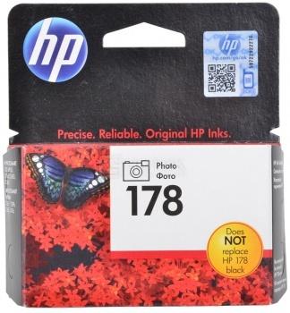 Картридж HP 178 для PhotoSmart 5510 5515 5383 5583 6510 7510 фото черный CB317HE