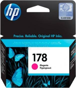 Картридж HP 178 для PhotoSmart 5510 5515 5383 5583 6510 7510 Фиолетовый CB319HE